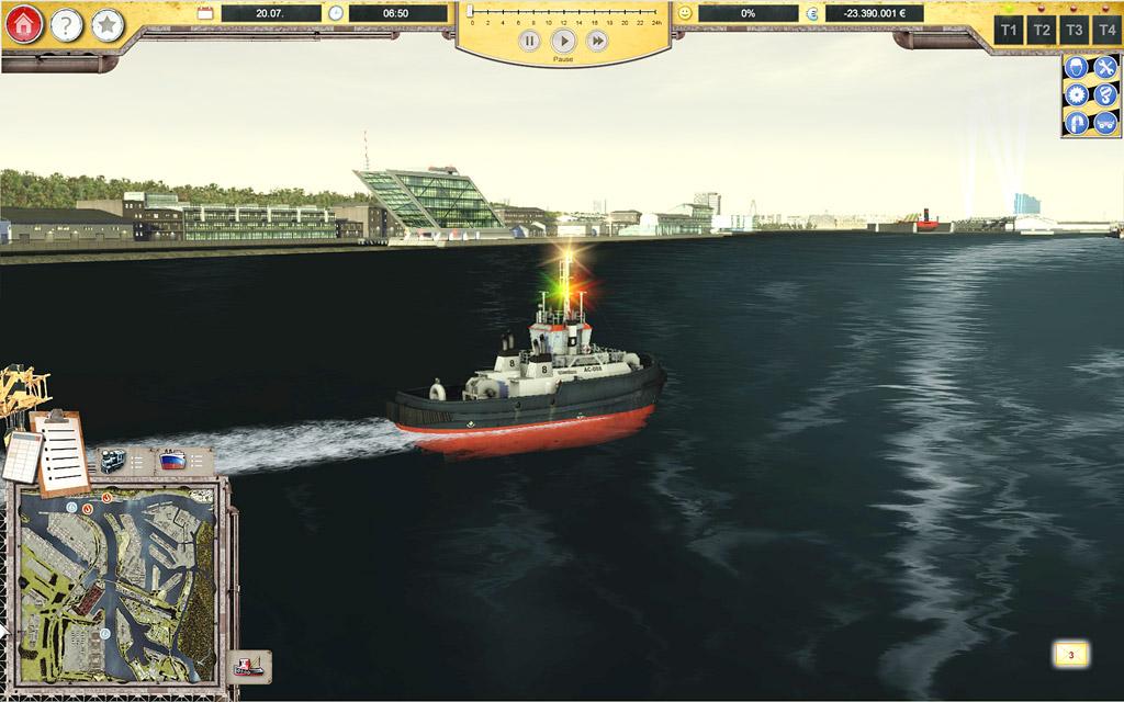 Hafen Simulator – Hamburg