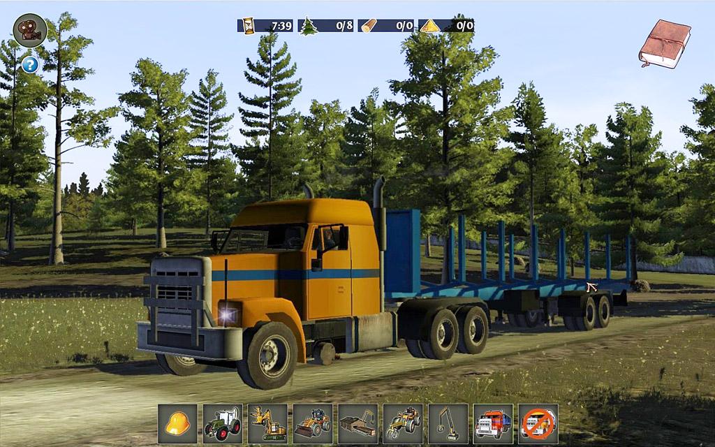 Holzfäller-Simulator 2012